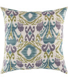 RugStudio presents Surya Pillows ZZ-420 Teal/Olive