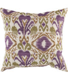 RugStudio presents Surya Pillows ZZ-421 Eggplant/Olive
