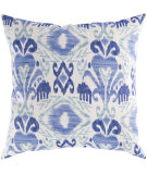 RugStudio presents Surya Pillows ZZ-422 Navy/Cobalt