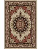 RugStudio presents Tayse Sensation 4702 Ivory Machine Woven, Good Quality Area Rug