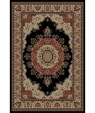 RugStudio presents Tayse Sensation 4703 Black Machine Woven, Good Quality Area Rug