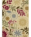 RugStudio presents Tayse Laguna 4542 Beige Machine Woven, Good Quality Area Rug