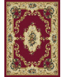 RugStudio presents Tayse Laguna 4610 Red Machine Woven, Good Quality Area Rug
