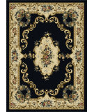 RugStudio presents Tayse Laguna 4613 Charcoal Machine Woven, Good Quality Area Rug