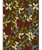 RugStudio presents Tayse Laguna 4658 Brown Machine Woven, Good Quality Area Rug