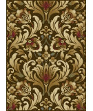 RugStudio presents Tayse Laguna 4698 Brown Machine Woven, Good Quality Area Rug