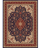 RugStudio presents Tayse Sensation 4787 Navy Blue Machine Woven, Good Quality Area Rug