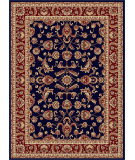 RugStudio presents Tayse Sensation 4797 Navy Blue Machine Woven, Good Quality Area Rug