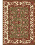RugStudio presents Tayse Sensation 4805 Green Machine Woven, Good Quality Area Rug