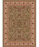 RugStudio presents Tayse Sensation 4815 Green Machine Woven, Good Quality Area Rug