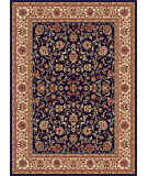 RugStudio presents Tayse Sensation 4817 Navy Blue Machine Woven, Good Quality Area Rug