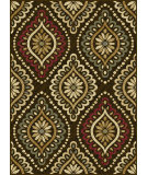 RugStudio presents Tayse Laguna 5008 Brown Machine Woven, Good Quality Area Rug