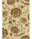 RugStudio presents Tayse Laguna 5042 Ivory Machine Woven, Good Quality Area Rug