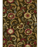 RugStudio presents Tayse Laguna 5058 Brown Machine Woven, Good Quality Area Rug