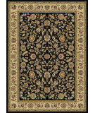 RugStudio presents Tayse Laguna 5073 Black Machine Woven, Good Quality Area Rug