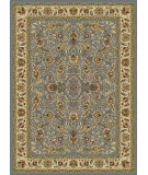 RugStudio presents Tayse Laguna 5076 Blue Machine Woven, Good Quality Area Rug