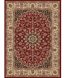 RugStudio presents Tayse Elegance 5390 Red Machine Woven, Good Quality Area Rug