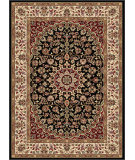 RugStudio presents Tayse Elegance 5393 Black Machine Woven, Good Quality Area Rug
