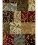 RugStudio presents Tayse Impressions Collection 7710 Ivory Machine Woven, Good Quality Area Rug