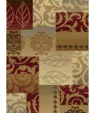 RugStudio presents Tayse Impressions Collection 7730 Red Machine Woven, Good Quality Area Rug
