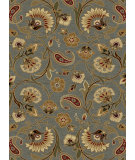 RugStudio presents Tayse Impressions Collection 7777 Blue Machine Woven, Good Quality Area Rug