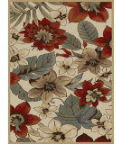 RugStudio presents Tayse Impressions Collection 7782 Ivory Machine Woven, Good Quality Area Rug