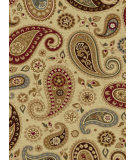 RugStudio presents Tayse Impressions Collection 7812 Ivory Machine Woven, Good Quality Area Rug