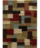 RugStudio presents Tayse Casual Shag 8510 Multi Area Rug