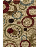 RugStudio presents Tayse Casual Shag 8540 Ivory Area Rug