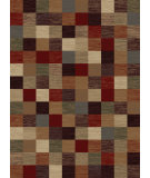 RugStudio presents Tayse Festival Collection 8710 Ivory Machine Woven, Good Quality Area Rug