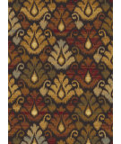 RugStudio presents Tayse Festival Collection 8878 Brown Machine Woven, Good Quality Area Rug