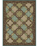 RugStudio presents Tayse Capri 1005 Brown Machine Woven, Good Quality Area Rug