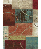 RugStudio presents Tayse Deco 1004 Multi Machine Woven, Good Quality Area Rug