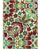 RugStudio presents Tayse Deco 1005 Beige Machine Woven, Good Quality Area Rug