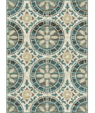 RugStudio presents Tayse Deco 1017 Ivory Machine Woven, Good Quality Area Rug