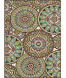 RugStudio presents Tayse Deco 1018 Multi Machine Woven, Good Quality Area Rug