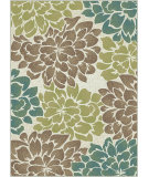RugStudio presents Tayse Deco 1020 Ivory Machine Woven, Good Quality Area Rug