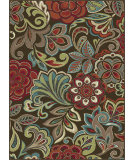 RugStudio presents Tayse Deco 1024 Brown Machine Woven, Good Quality Area Rug