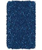 RugStudio presents The Rug Market America Kids Shaggy Raggy D/blue 02216 Dark Blue Area Rug