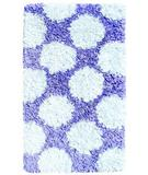 RugStudio presents The Rug Market America Kids Polkamania Lavander/white 02263 Lavander/white Area Rug