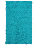 RugStudio presents The Rug Market America Kids Shaggy Raggy Teal Teal Rag Area Rug