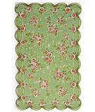 RugStudio presents The Rug Market America Kids Emily 11291 Green/pink Hand-Hooked Area Rug