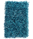 RugStudio presents The Rug Market America Resort Grazin' In The Grass 25154 Aqua Blue Area Rug