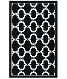 RugStudio presents The Rug Market America Walt Disney Signature Outdoor Hyperion 25242 Black/white Hand-Hooked Area Rug