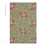 RugStudio presents The Rug Market America Resort Victorian 25342 Sage/rose Hand-Hooked Area Rug