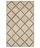 RugStudio presents The Rug Market America Shabati Taos Cream 44181 Cream/tan Hand-Tufted, Good Quality Area Rug