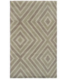 RugStudio presents The Rug Market America Camden Zuel 44295 Ivory/Beige/Taupe Hand-Tufted, Good Quality Area Rug