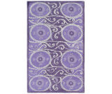 RugStudio presents The Rug Market America Camden Oy 44301 Lavender/gray/purple Hand-Tufted, Good Quality Area Rug