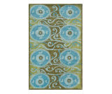 RugStudio presents The Rug Market America Camden Oy 44303 Blue Hand-Tufted, Good Quality Area Rug