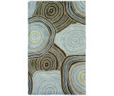 RugStudio presents The Rug Market America Camden Barton 44320 Brown/grey/gold Hand-Tufted, Good Quality Area Rug
